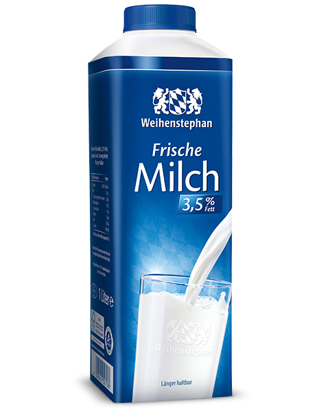 Verpackung Milch 3,5%