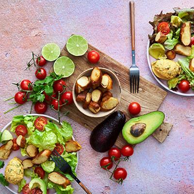 salate rezepte molkerei weihenstephan. Black Bedroom Furniture Sets. Home Design Ideas
